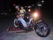 mommy,and little biker