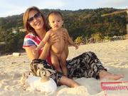กับ แม่ แม่จูน ตอนหนูstill baby