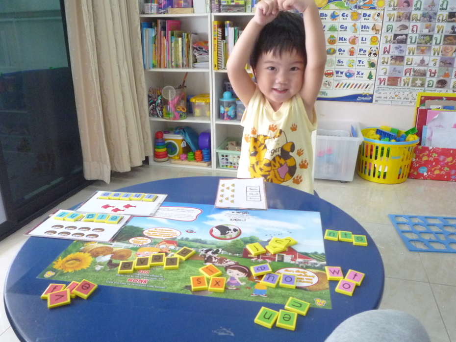 Counting time and number words matchup