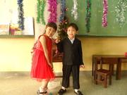 น้องอะตอมถ่ายรูปกับสาวน้อยญี่ปุ่น