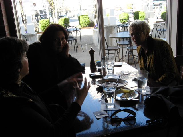 PASCA discussion in restaurantIMG_0351