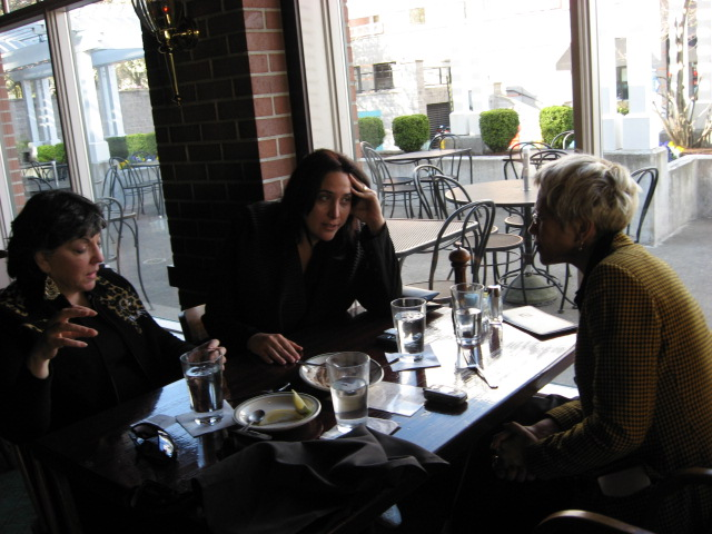 Early Dinner at Riverside Restaurant with Israelis for PASCA IMG_0350