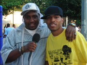 KING (DRTYBSMNT MULTIMEDIA) INTERVIEWS GIFTED (N.A.N.) @ PARK TOUR
