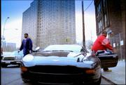 JazO out the Aston DB7