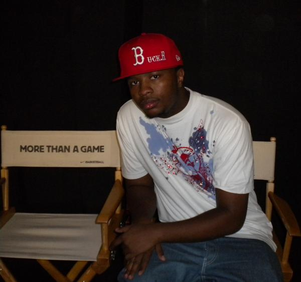 Backstage @ More Than A Game Tour