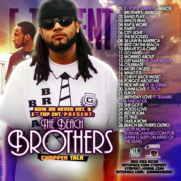 Sunni G & DJ E-TOP-The Beach Brothers