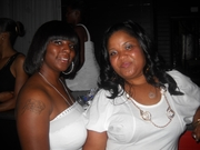 """""""All White Party"""" Tasha Starr & First Lady"""