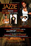 Jazzy Album release Party with Dj Nothin Nice