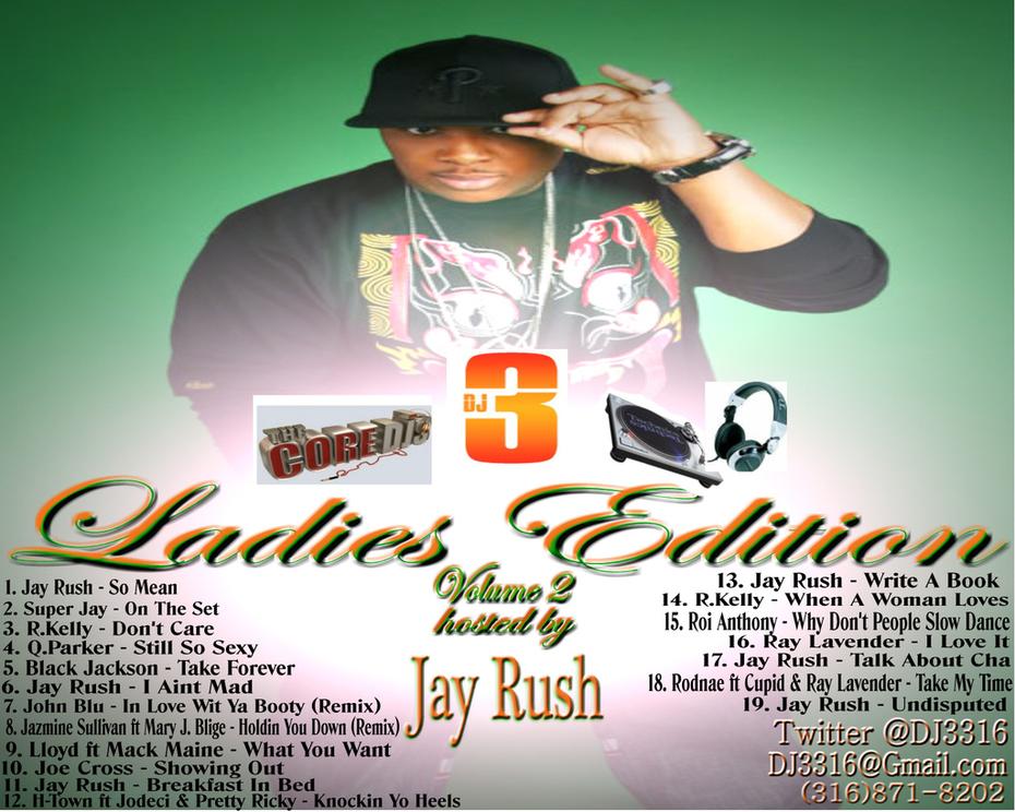 DJ 3 Ladies Edition Volume 2 Cover