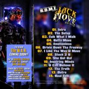 Jack Move: The Setup (Back)