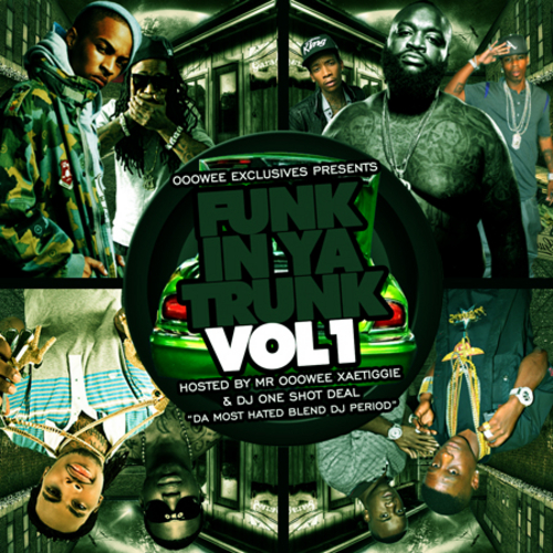 FUNK IN YA TRUNK VOL 1 FRONT COVER