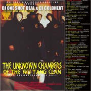 DJ ONE SHOT DEAL & DJ COLDHEAT THE UNKNOWN CHAMBERS OF THE WU TANG CLAN
