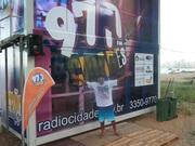 radio on the beach in January 2012