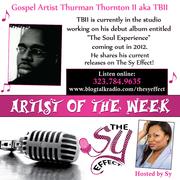 Gospel Artist Thurman Thornton