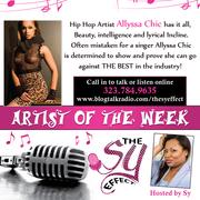 Hip Hop Artist Alyssa Chic (pronouced sheek)