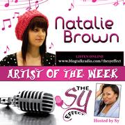 R&B/POP Artist Natalie Brown