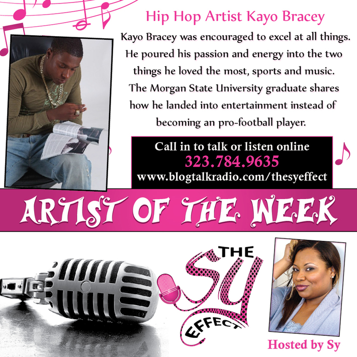 Hip Hop Artist Kayo Bracey