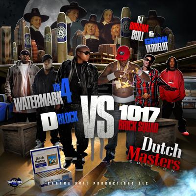 DJ BHRAMA BULL & G-MAN VERDELOT PRESENT_ THE WATERMARK 4 - DUTCH MASTER EDITION