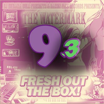 DJ BHRAMA BULL PRESENTS_ THE WATERMARK 9. 3 - FRESH OUT THE BOX (NINE POINT THREE)