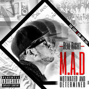 M.A.D (Motivated And Determined) Front Cover