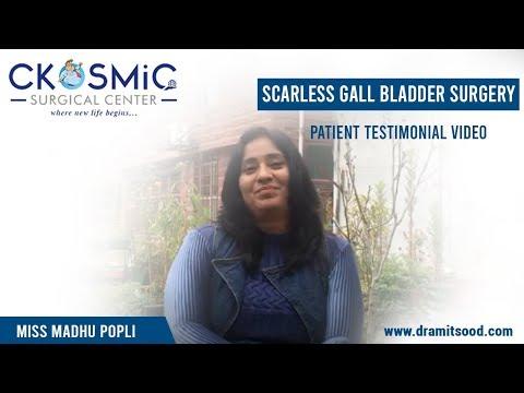 PATIENT TESTIMONIAL | DR AMIT SOOD | SCARLESS GALL BLADDER SURGERY | LAPAROSCOPIC SURGEON IN MOGA