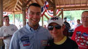 Dylan Sacks meets Cadet Colonel Adnan Barqawi at the Conservative Soiree Bull Run Manassas !!