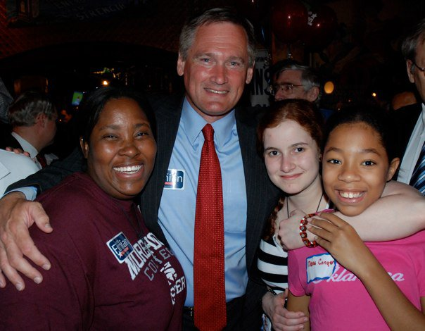 Me, Keith Fimian, Josie, and Dena at the Victory Party