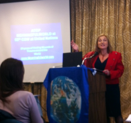 Dr. Ani Kalayjian at the UN Conference