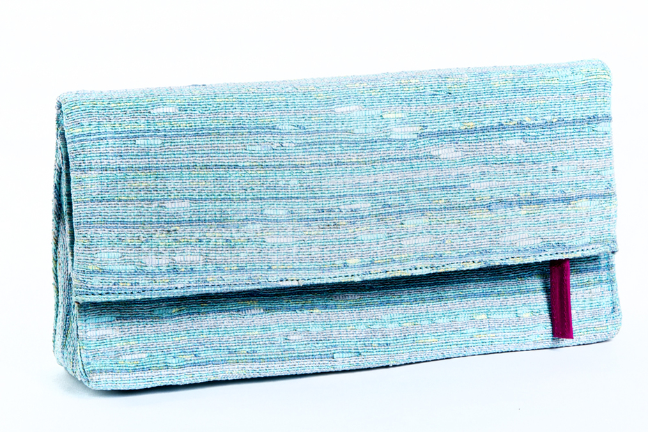 Foldover Clutches- Serene Blues