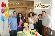 Cumpleañeros en Bonny Restaurant
