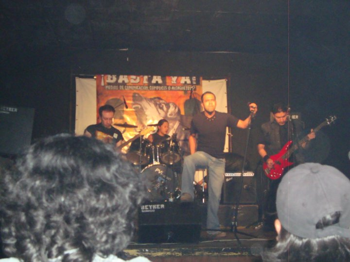 Concierto Noviembre Negro ....2010....CORVUS ...