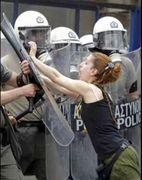Greek Defiance Girl