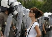 Greek Defiance Lady