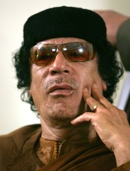 Gadhafi quoted as vowing no surrender in Libya