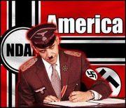 Capture obama nazi