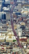 "Mainstream media calls this ""hundreds of protestors"" Montréal #ggi #manifencours"