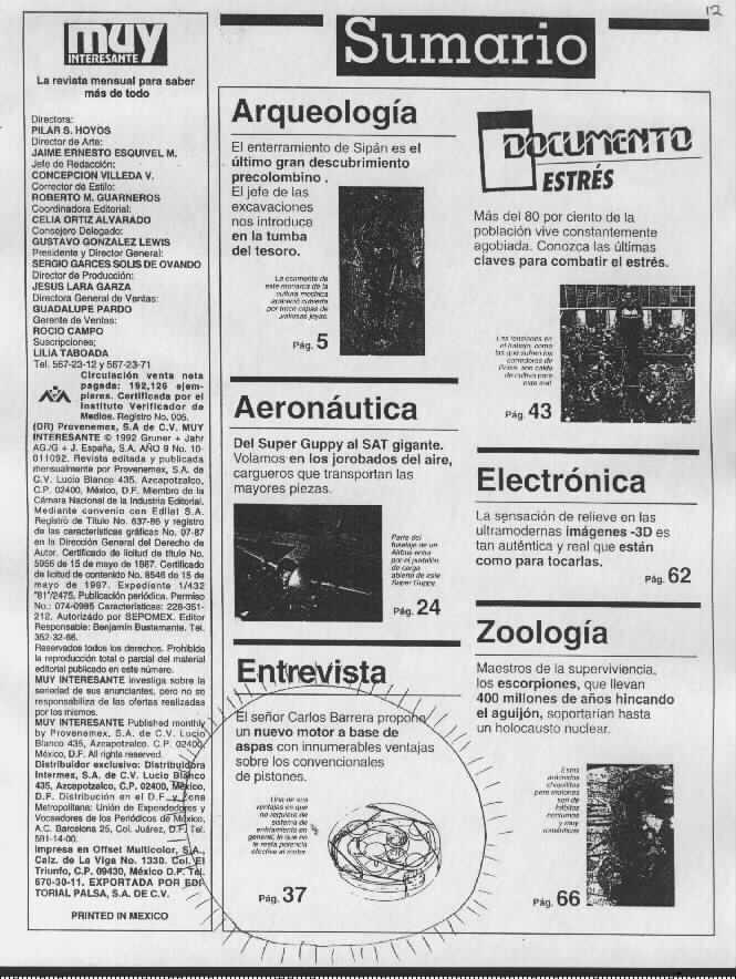 Gearturbine Muy Interesante 2.  Scientific magazine