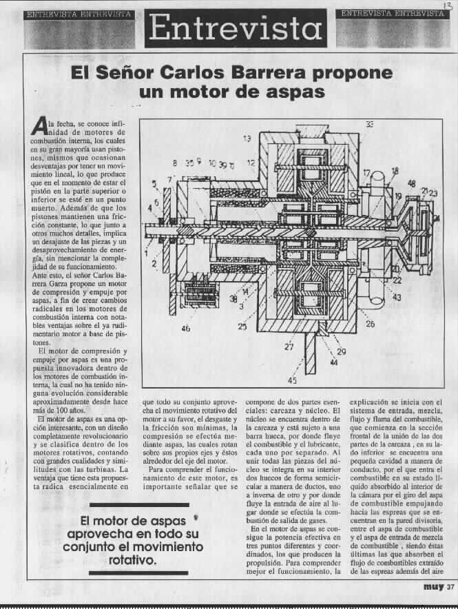 Gearturbine Muy Interesante 3 Scientific magazine