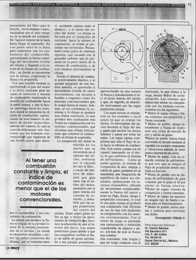 Gearturbine Muy Interesante 4 Scientific magazine