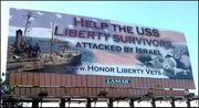 Help USS Liberty vets billboard