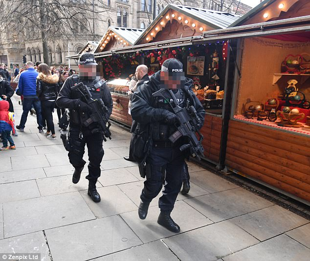 Mummy, why are there policemen with guns at the Christmas market Because son, diversity is our greatest strength