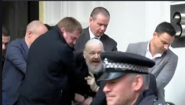 Assange Arrested on 4/11/2019