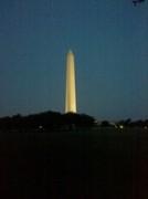 Washington monument @ night