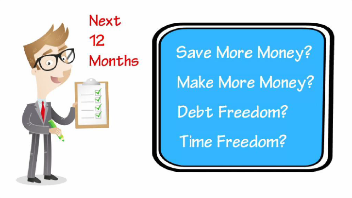 4 Goals in the Next 12 Months