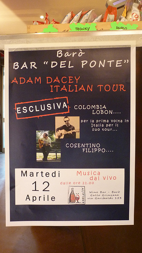 Colombia Lobon Italy Tour