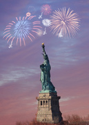 Fireworks Over Liberty
