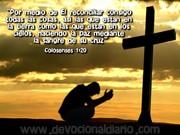 Haciendo la paz mediante la sangre de su cruz
