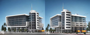 Offices and Warehouse Design & Render