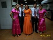 Parte del Grupo de Danza