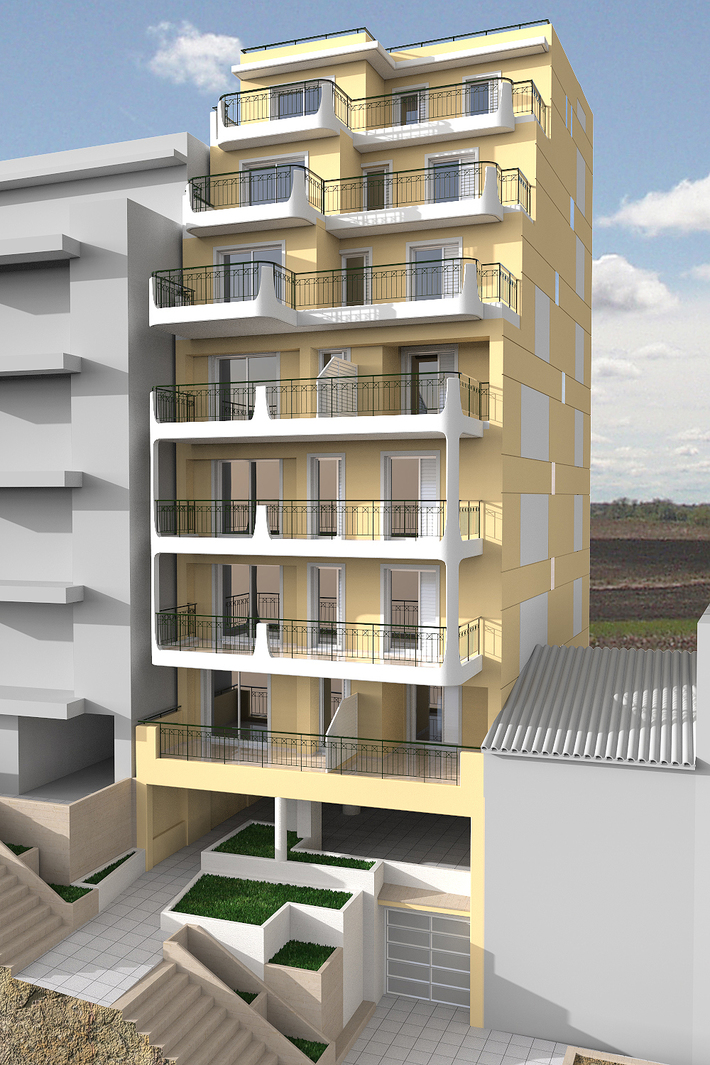 Block of flats building - preliminary